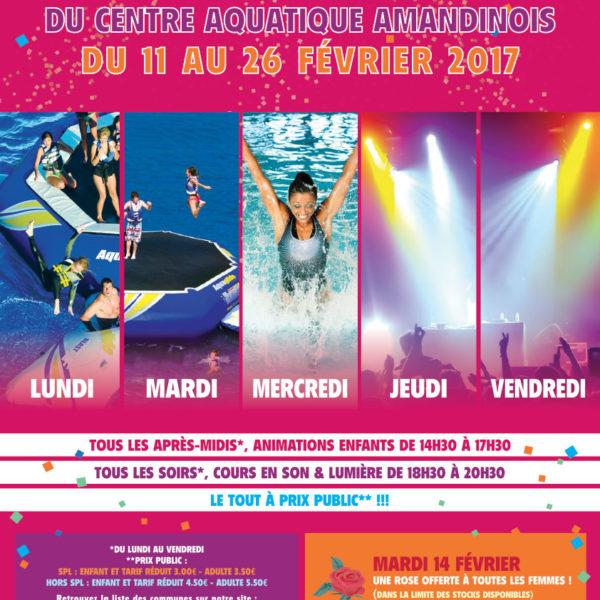 Anniversaire Centre Aquatique 2017