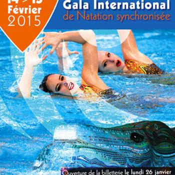 Gala International de natation synchronisée Février 2015