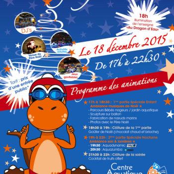 Le Dragon fête Noël 2015