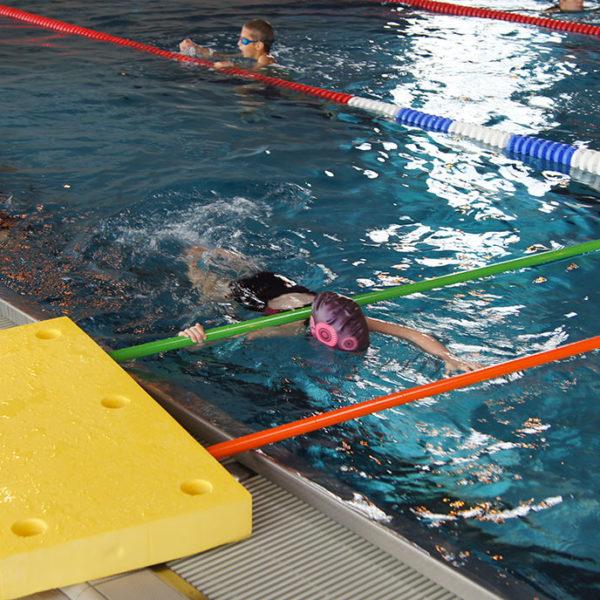Leçons de natation enfants