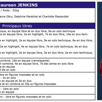 Palmarès de Maureen JENKINS