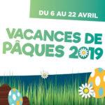 Vacances de Pâques 2019