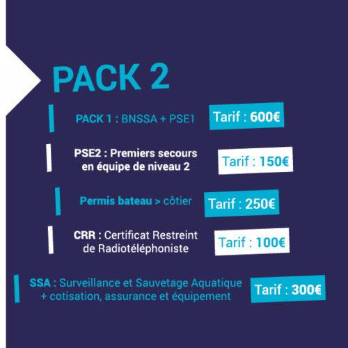 Tarif Pack 2